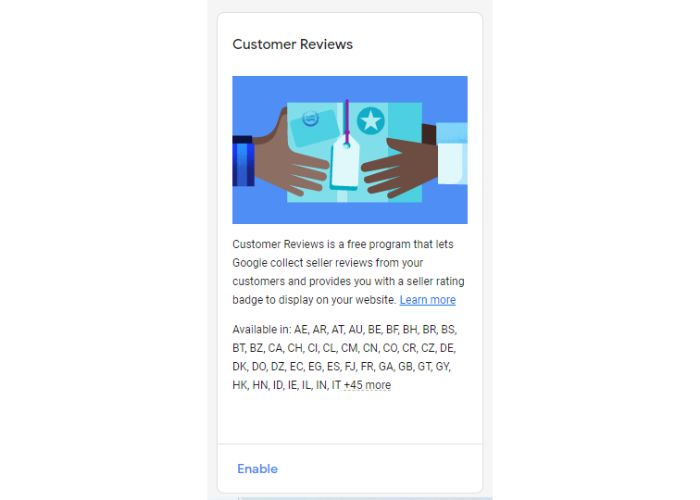 Google trusted stores reviews