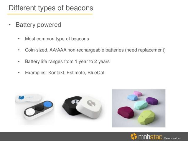 types of beacons marketers guide to beacon technology