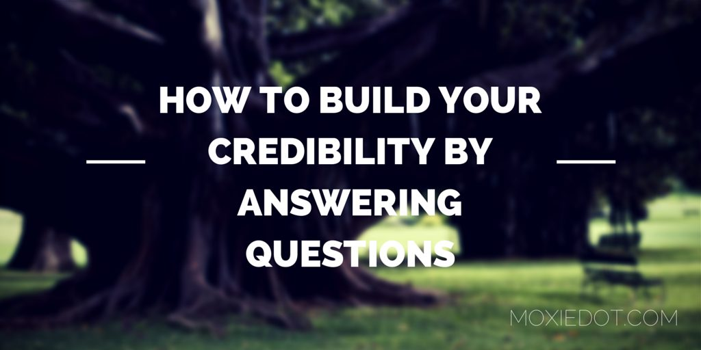 neuroscience sales tips - build your credibility by answering questions