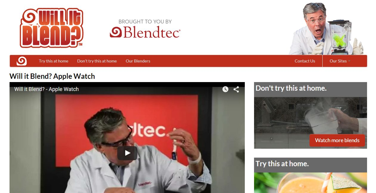 neuroscience sales tips - blendtec as an example of selling something without being too salesy